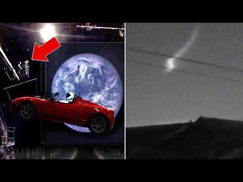 UFOs & SpaceX Heavy Falcon REAL OR FAKE? MOTHERSHIP UFO Caught On Space Live Stream 2018?