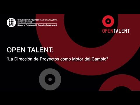 Open Talent: Project Management como motor del cambio: Caso FC Barcelona