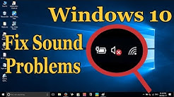 How to Fix Windows 10 Audio Sound Problems [3 Solutions]
