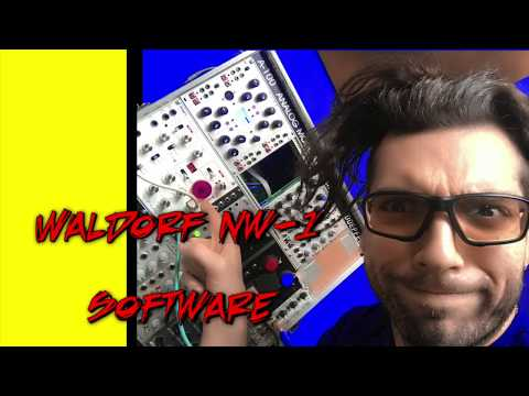 Waldorf NW1 Software - Making wavetables from anything and Text to Speech