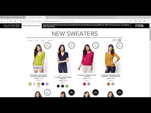 How To Get And Use New York & Company Coupons Promo Code