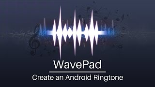 Use wavepad audio editor to turn any song on your computer into a ringtone. this tutorial will guide you though creating, editing, and saving ringtone from...