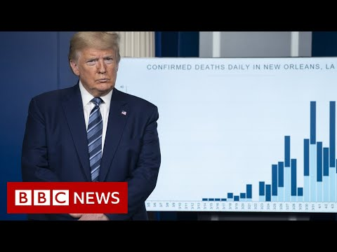 Coronavirus: Trump Sees 'light At End Of Tunnel' In Virus Fight - BBC News