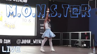 【バニー海水】M.O.N.S.T@R 歌って踊ってみた【Cheeky Parade】@JAPAN WEEKEND BARCELONA