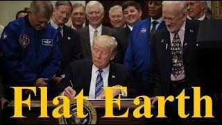 Trump talks space & Buzz Aldrin