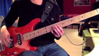 Simple Minds - Glittering Prize (Bass Cover)