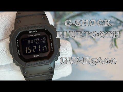 Обзор Casio GW-B5600BC-1BJF G-shock Bluetooth / Модель 2018 года