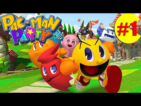 Let's Play Pac-Man Party: Greenwood Grove~(P1)[Gameplay/Multiplayer]