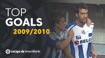 TOP Goals LaLiga SmartBank 2009/2010