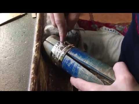 Процесс изготовления Кубачинкого браслета