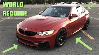 Watch THIS BMW F80 M3 Become the FASTEST BMW M3 In The World! *WORLD RECORD*