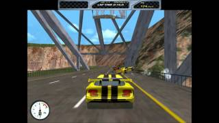 Viper Racing (PC, 1998) - Funny race