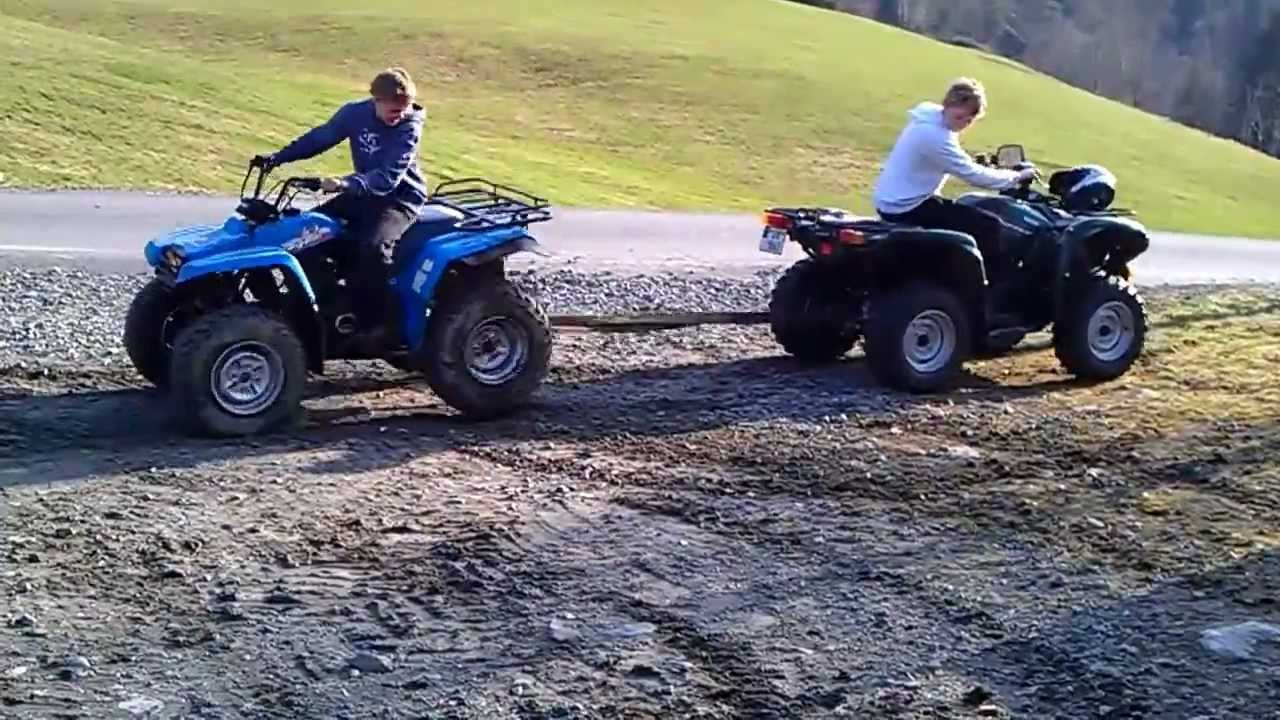 Yamaha Grizzly  Vs Can Am Outlander