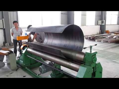 W11 mechanical 3 roller symmetrical plate rolling machine/Sheet Metal Slip Rolling Machines
