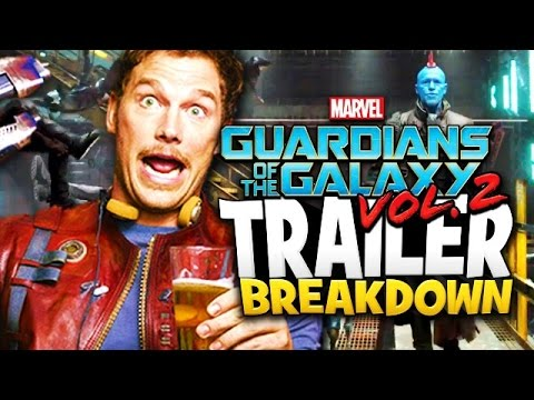 Guardians Of The Galaxy Volume 2 TRAILER Breakdown