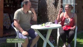 Greenhouse & Gardeners' World | June (ep16/y2) | Sean's Allotment Garden