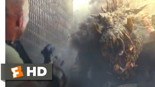 Rampage (2018) - Giant Monster Fight Scene (9/10) | Movieclips