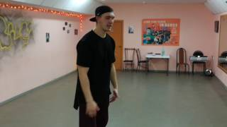 Обучение хип хоп движение Reebok Евгений Мелехин
