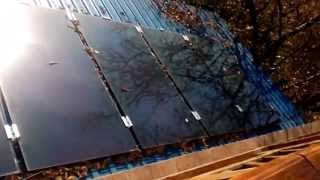Аморфная тонкопленочная солнечная батарея панель.ТЕСТ.Осень.После обеда.Solar GS 50 TEST(, 2015-10-30T19:29:24.000Z)