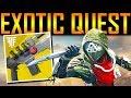 Destiny 2 - IT'S TIME! NEW EXOTIC QUEST!