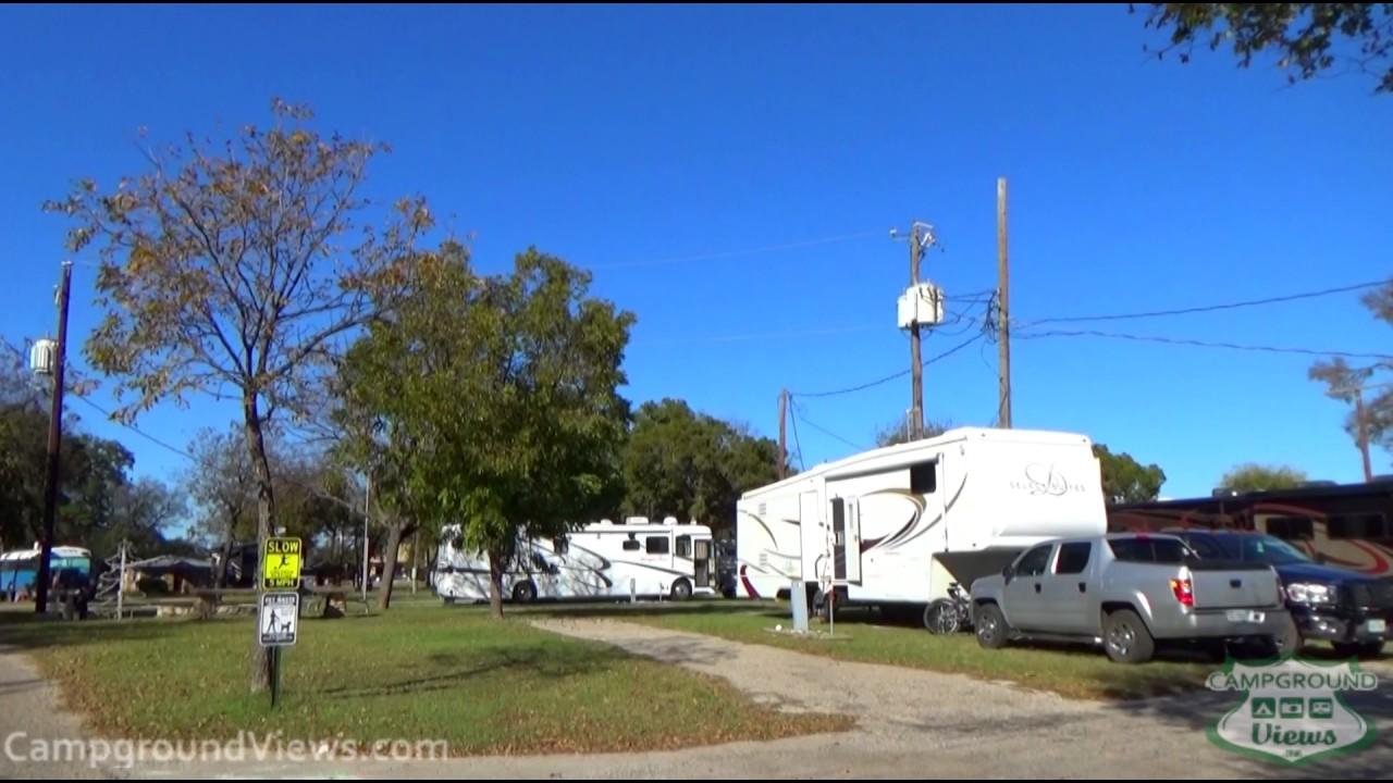Oakdale Park Campground Glen Rose Texas TX ...