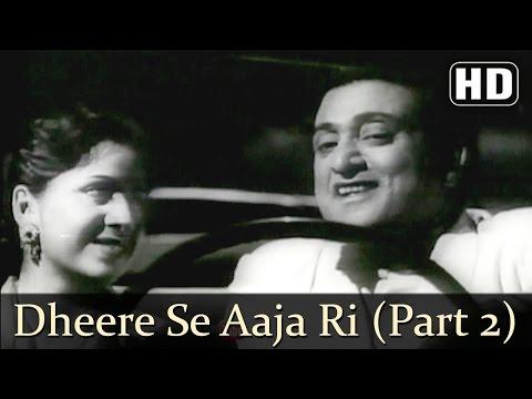 Dheere Se Aaja Ri Ankhiyon  Albela Songs  Bhagwan Dada  Geeta Bali  Lata Mangeshkar  Filmigaane
