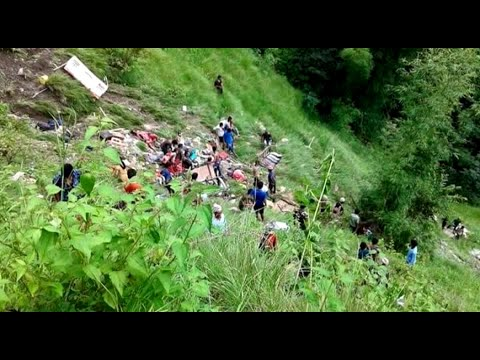 Bus accident in Kavre