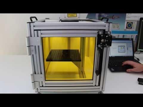 3D Laser Marking with Optotune's EL-10-42 LP