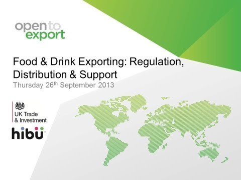 Food & Drink | Exporting Regulation, Distribution & Support