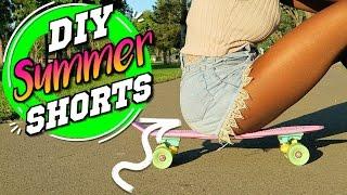 DIY Cut Off Shorts 3 ways! Summer Shorts YOU NEED!