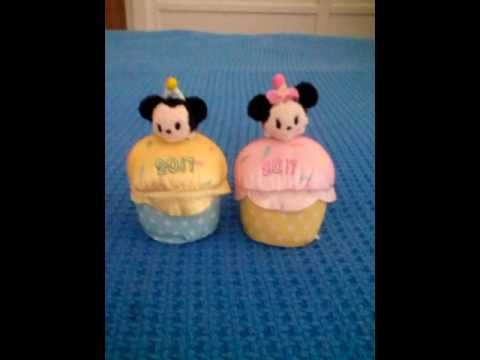 Mickey and Minnie Birthday Tsum Tsum with Vanilla Flavor Scent