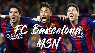 【MSN】バルセロナ史上最強の3トップ メッシ�...