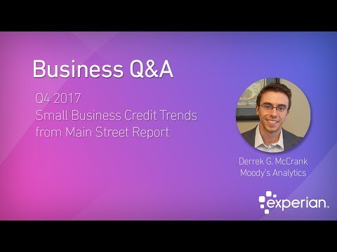 Small Business Credit Trends Q4 2017 Main Street Report