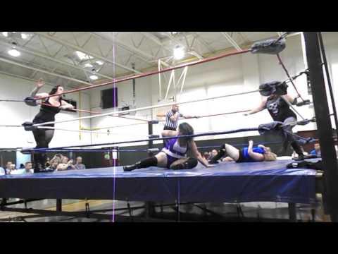 Diamond Roberts and Blackwidow vs Daisy Mae and Crystal Fire