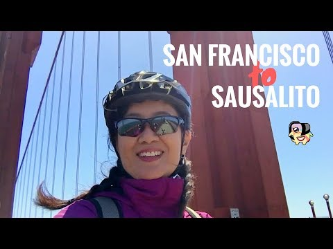 Easy Scenic Bike Ride From Fisherman's Wharf To Sausalito (Across The Golden Gate Bridge)