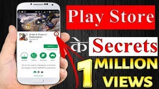 TOP SECRETS Of GOOGLE PLAY STORE -  HIDDEN Features!