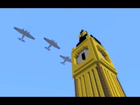 Minecraft Battle of Britain vehicle pack for Flan's mod