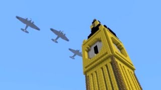 Minecraft Battle of Britain vehicle pack for Flan