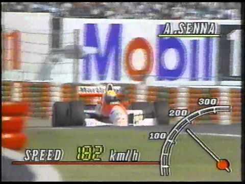 1990 F1GP 15 日本(鈴鹿) 予選2日目 アイルトン・セナ2回目HD
