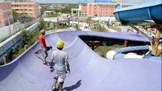 Bavaro Skate Tour 2011 parte 1 / Water Park