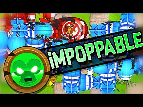 HIGHEST ROUND on IMPOPPABLE!!   Bloons Tower Defense