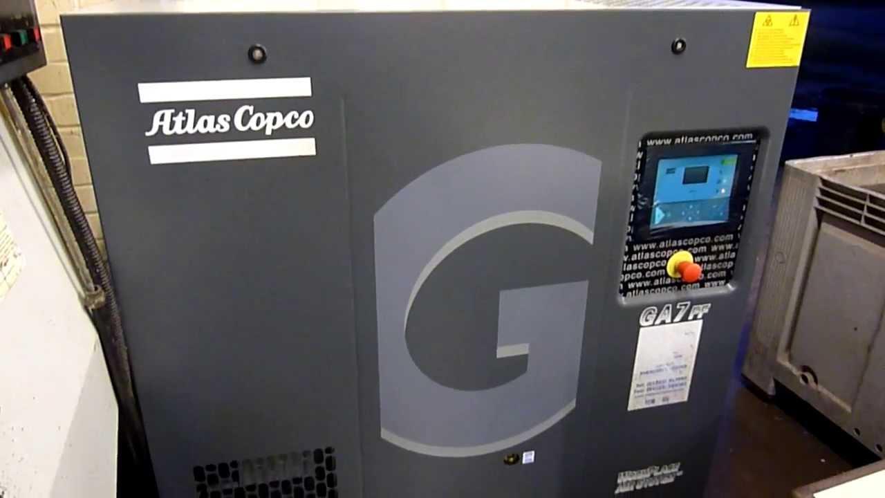 atlas copco ga7ff compressor 2012 youtube rh youtube com Atlas Copco Drill Rigs atlas copco gx4ff parts manual