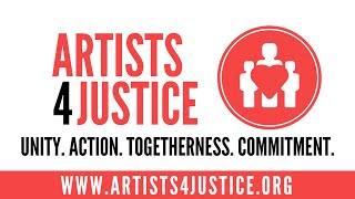 ARTISTS4JUSTICE • MARATHON LIVESTREAM • WE STAND FOR RACIAL EQUALITY