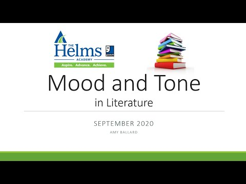Mood and Tone in Literature   GED, HiSET, and TASC Language Arts Reading Prep