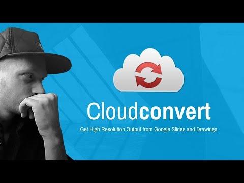 Google Drive and Cloud Convert