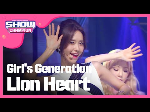 (episode-158) Girl's Generation (소녀시대 )- Lion Heart