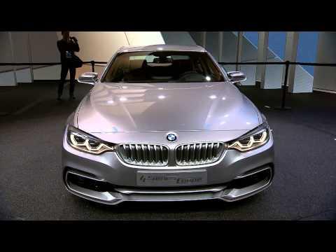 BMW 4 Series Coupe Concept (F32) at 2013 NAIAS Detroit Auto Show