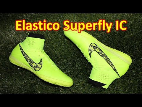 Nike Elastico Superfly Indoor Volt/Black - Review + On Feet