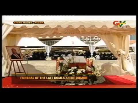 Funeral Services for Komla Dumor Ghanian BBC Newsreporter