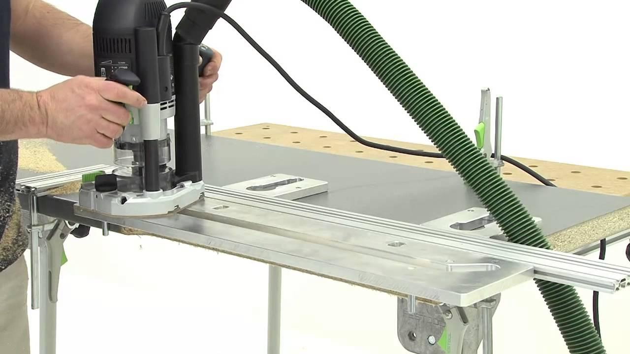 Festool TV-09-Corner joints on kitchen worktops 60 cm wide